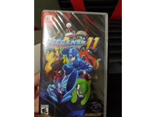 Mega Man 11 Nintendo Switch Nuevo Sellado, Puerto Rico