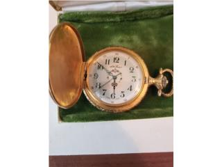 Pocket Watch - Seth Thomas, Puerto Rico