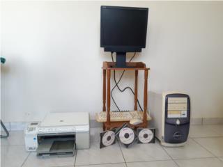 Desktop, con printer 3 en 1y discos de juegos, Puerto Rico