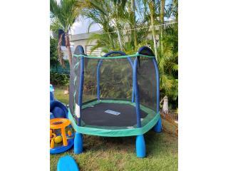 trampolin para jovencitos, Puerto Rico