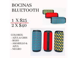 Bocinas bluetooth, Puerto Rico