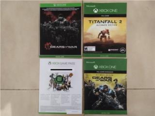 3 juegos completos Xbox One, Game Pass y Live gold, Puerto Rico