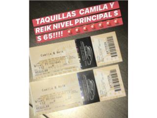 Taquillas concierto Camila/Reik, Puerto Rico