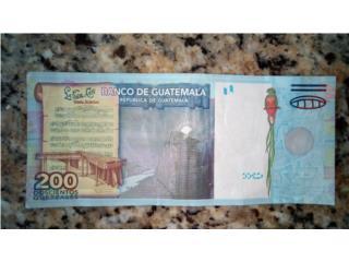 billete de GUATEMALA, Puerto Rico