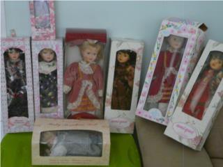 Muñecas de porcelana Varios modelos y tamaños, Puerto Rico
