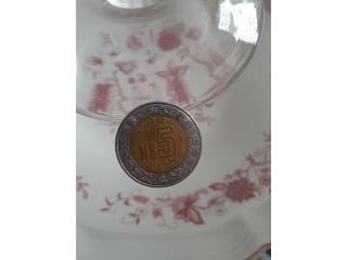 Moneda $N5 de Mèjico 1992, Puerto Rico