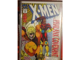 LOTE COMICS X-MEN, UNCANNY X-MEN AND UNLIMITED, Puerto Rico