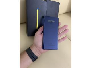 Galaxy Note 9 New en caja Desbloqueado, Puerto Rico