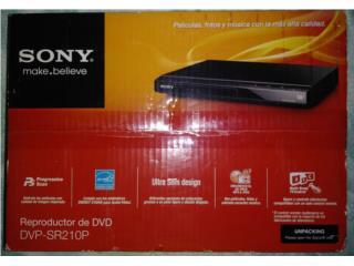 REPRODUCTOR DE DVD CD, MARCA SONY, NUEVO $25., Puerto Rico