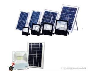 Foco Solar con LED 30W 50W 60W, Puerto Rico