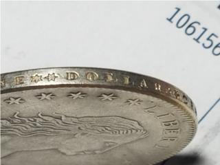 RARO Dolar USA 1794  letras en el borde, Puerto Rico