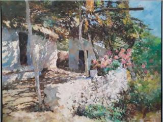 Pintura del artista SANCHEZ FELIPE del 1962, Puerto Rico