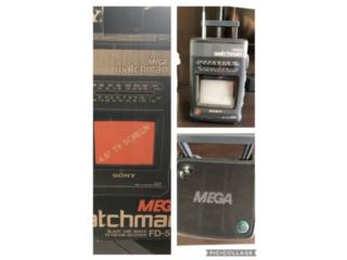**Sony MEGA watchman TV-FM/AM FD-510 ** , Puerto Rico