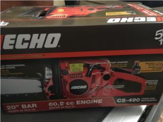 "Chain saw echo 20"", Puerto Rico"