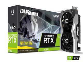 RTX 2060 AMP core todos los juegos Ultra  anasco, Puerto Rico