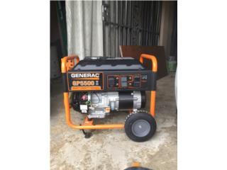 Generac 5500W generador, Puerto Rico