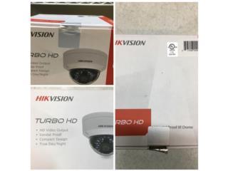 Camara HikVision para sistema de seguridad, Puerto Rico