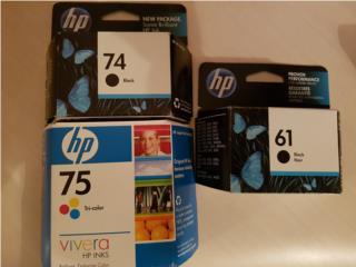 HP Inkjet Cartrige 61/ 74 & 75, Puerto Rico