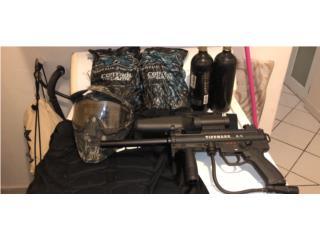 Pistola gotcha, Puerto Rico