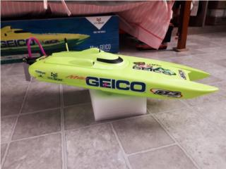 Bote miss geico cat 17