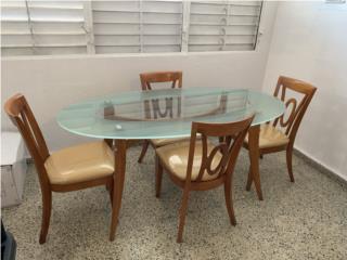 Juego de comedor o sillas solas, Puerto Rico