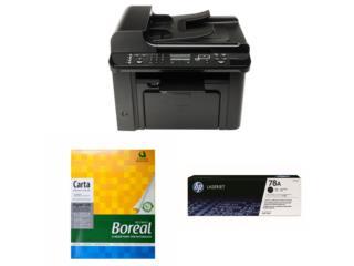 Combo printer, tinta, papel, Puerto Rico