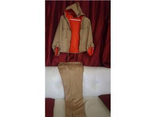 Set de Jacket y pantalón impermeable , Puerto Rico