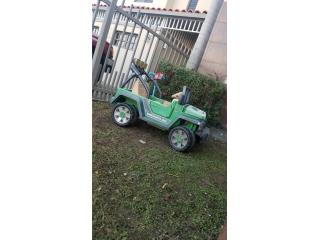 Juguete Jeep Wrangler, Puerto Rico