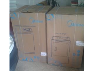 Combo de secadora y lavadora nuevas en cajas 500, Puerto Rico