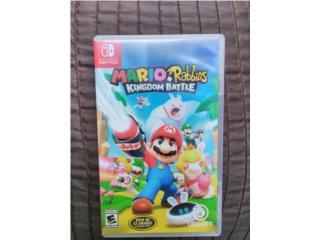 Mario + Rabbits Para Switch , Puerto Rico