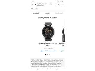 Galaxy watch 46mm, Puerto Rico