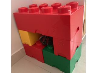 Cajas Lego, Puerto Rico