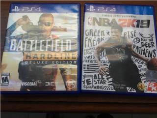 Battlefield Hardline y NBA 2k19 de PS4, Puerto Rico