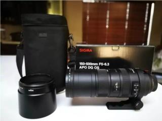 Sigma 150-500mm, Puerto Rico