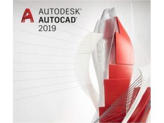 2019 AutoCAD/SolidWorks/Office/Todo Programa Disp., Puerto Rico