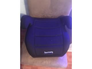 Car seat booster, Puerto Rico
