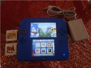 Nintendo 2ds (Azul), Puerto Rico