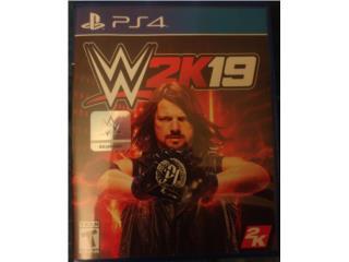 WWE 2K19 PS4 $15 COMO NUEVO , Puerto Rico