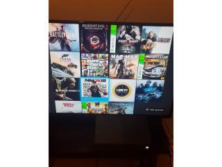 Xbox one s 1tb con 15 juegos, Puerto Rico