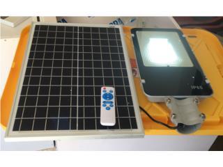 Foco Solar 100w, Puerto Rico