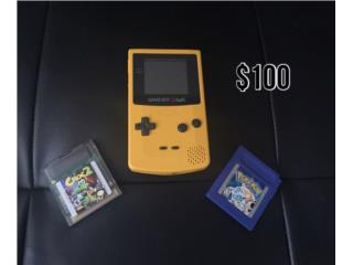 Gameboy Color Amarillo COMO NUEVOO!!! , Puerto Rico