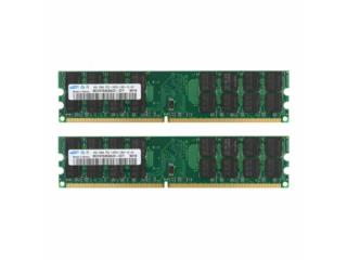 Memoria Samsung 8GB 2X 4GB PC2-6400 DDR2, Puerto Rico
