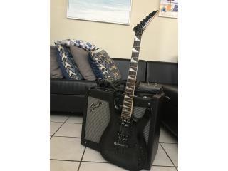 Amplificador Fender con Guitarra Jackson en ($425), Puerto Rico