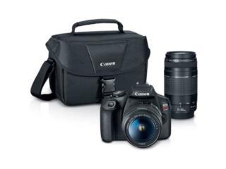 Camara Canon-EOS Rebel T 7 , Puerto Rico