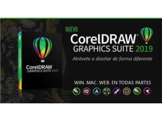2019 CorelDRAW/Adobe CC/Office 2019/AutoCAD, Puerto Rico