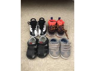 Zapatos para niños zize 3 y 4, Puerto Rico