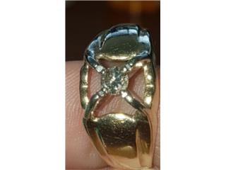 Sortija 22k con diamante ideal para el , Puerto Rico