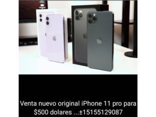 Venta original iPhone 11 pro $500 envio gratis, Puerto Rico