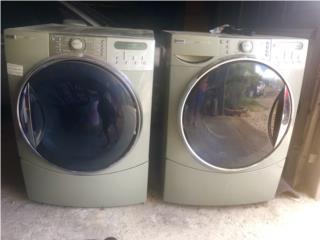 Secadora Kenmore de Gas y lavadora , Puerto Rico