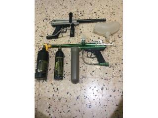 Pistolas  Gotcha, Puerto Rico